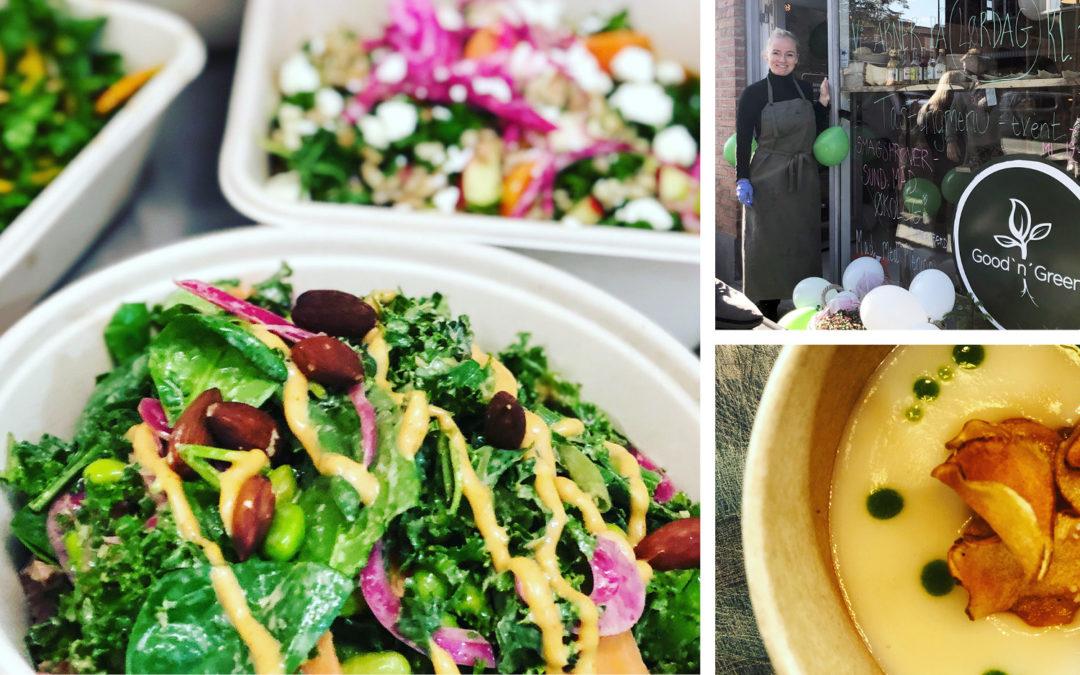 Nyhed /  sunde salater hos GoodnGreen
