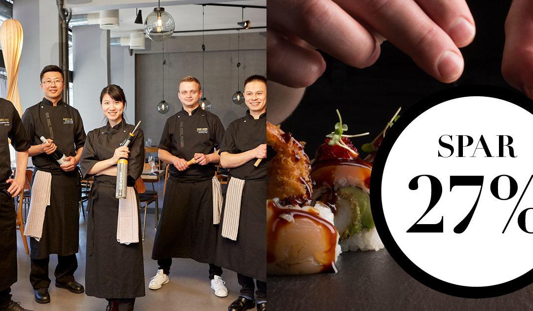NORD deal / Sushi kurser 2020