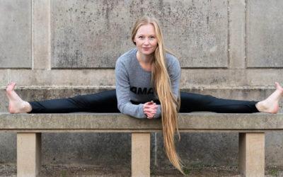 Stress blev vejen til et liv med yoga