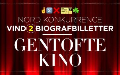 Vind 2 biografbilletter til Gentofte Kino