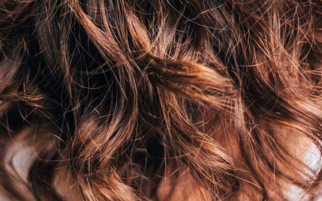 Smukt hår sidder i generne