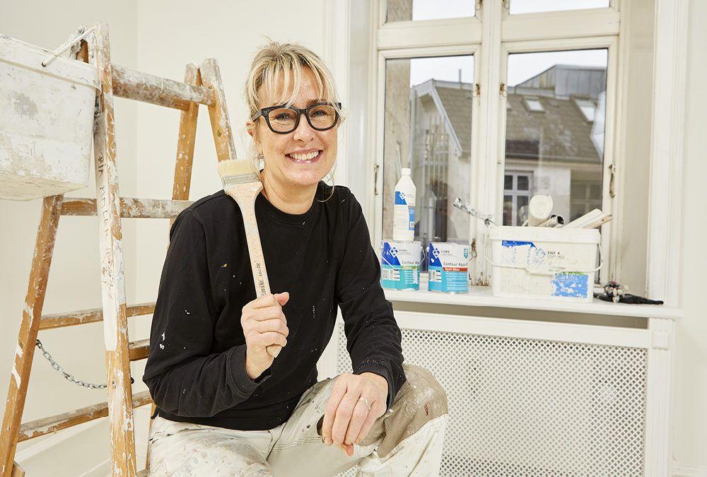 Din lokale maler – Malermester Pia Rasmussen