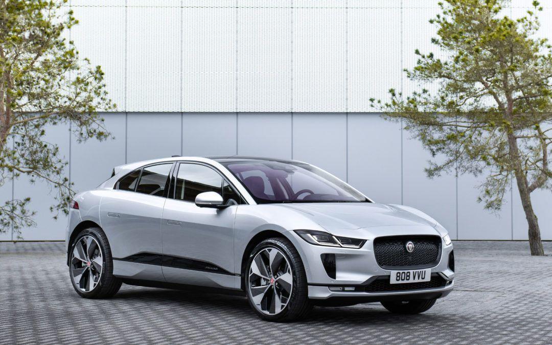 Ny Jaguar I-Pace  lander på det danske marked