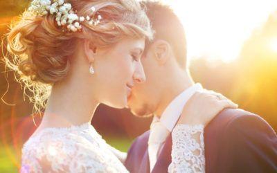 Nude & feminin make up til brylluppet