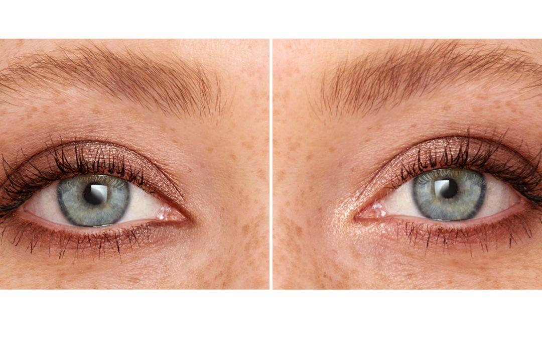Skab et mere balanceret ansigt ved at snyde med din øjenafstand.
