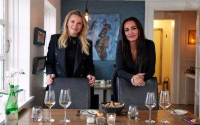 Mardahl på frokosttur med Katerina  Pitzner