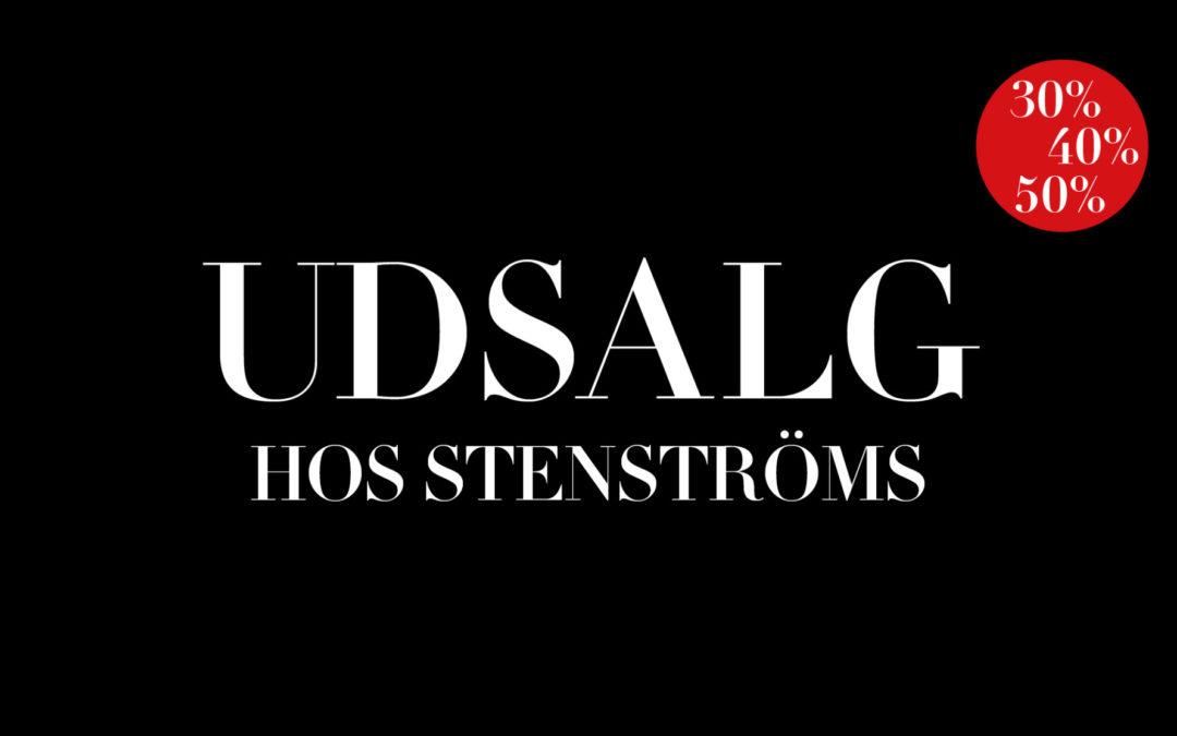 Udsalg hos Stenströms