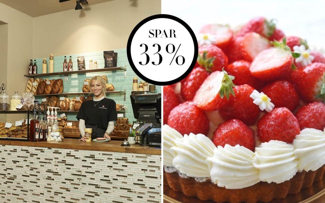 NORD Deal – Fransk jordbærtærte