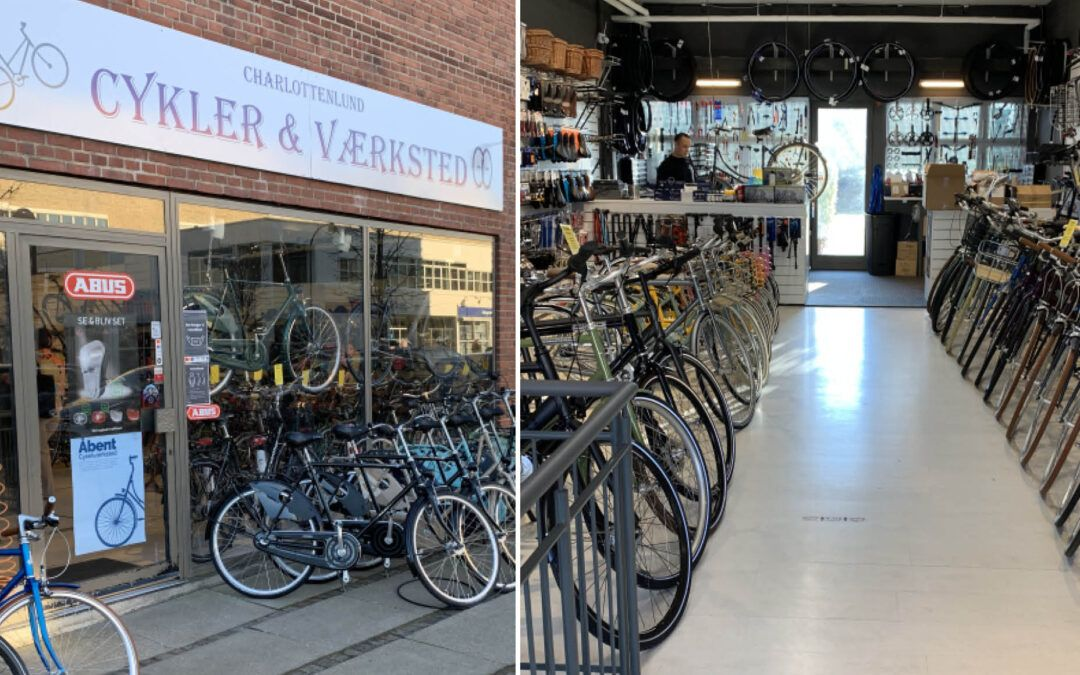 Ny cykelforretning på Jægersborg Allé