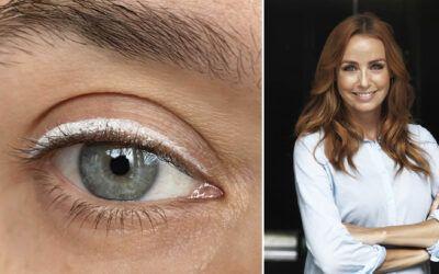 Brug din øjenskygge som en funky eyeliner!