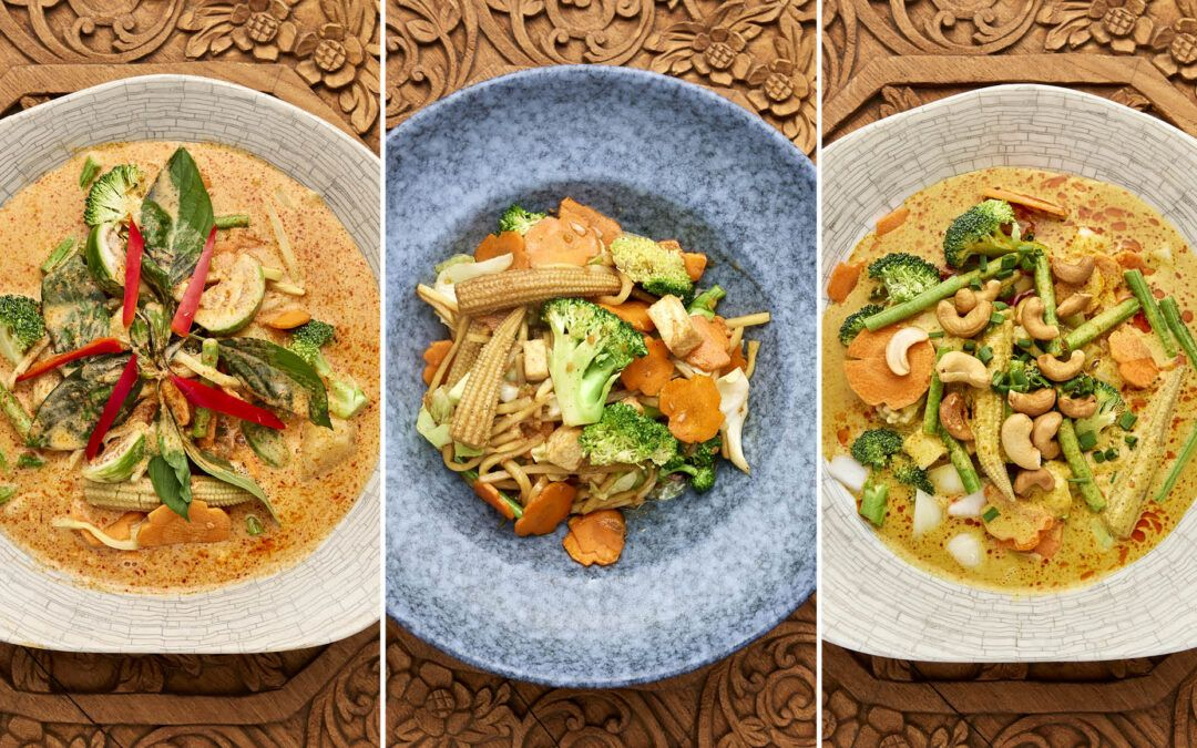 Hjemmelavede thai-klassikere nu som vegetar