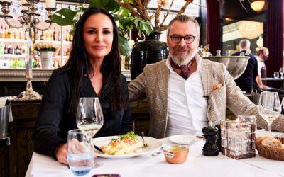 Mardahl på frokosttur med Lars Elbæk