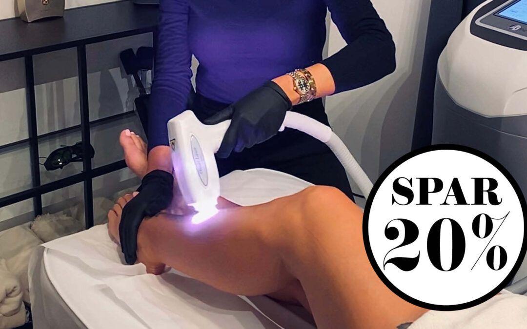NORD Deal – Glat, blød og hårfri med laser