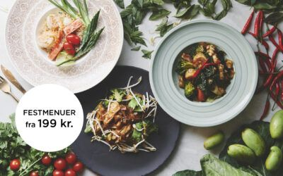 Thai Lanna smuk mad til din fest